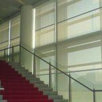 halbtransparente Textilscreens